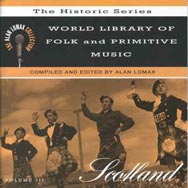 World Library of Folk and Primitive Music V 3 Scot