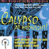 Calypso at Midnight The Live Midnight Special Conc