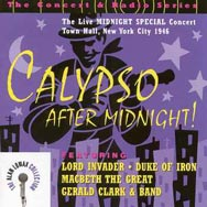 Calypso After Midnight The Live Midnight Special C