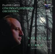 Sibelius Symphony No 2 In D Major Tubin Symphony N SACD 60585