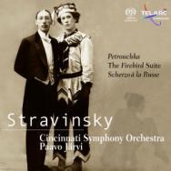 Stravinsky Petrouchka The Firebird Suite Scherzo a SACD 60587