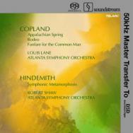 Copland Appalachian SpringRodeoFanfare For The Com