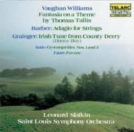 Vaughan Williams Tallis Fantasia Barber Adagio