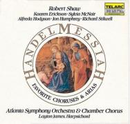 Handel Messiah Favorite Choruses And Arias