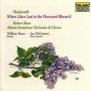 Hindemith When Lilacs Last In The Dooryard Bloomd
