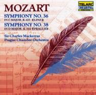 Mozart Symphonies No 36 No 38