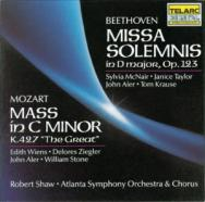 Beethoven Missa Solemnis Mozart Great Mass In C Mi