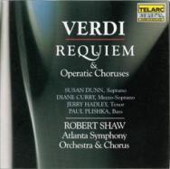 Verdi Requiem Operatic Choruses