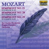 Mozart Symphonies No 25 No 28 No 29