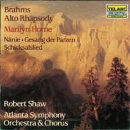 Brahms Alto Rhapsody Gesang der Parzen Nanie Schic