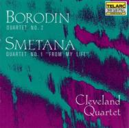 Borodin Quartet No 2 Smetana Quartet No 1