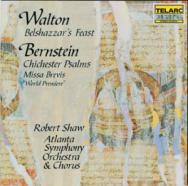 Walton Belshazzars Feast Bernstein Chichester Psal