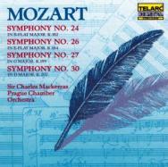 Mozart Symphonies No 24 No 26 No 27 No 30