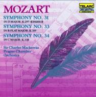 Mozart Symphonies No 31 No 33 No 34