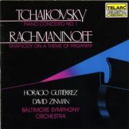 Tchaikovsky Piano Concerto Rachmaninoff Rhapsody