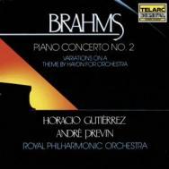 Brahms Piano Concerto No 2 Haydn Variations