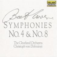 Beethoven Symphonies No 4 No 8
