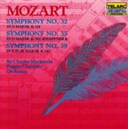 Mozart Symphonies No 32 No 35 Haffner No 39