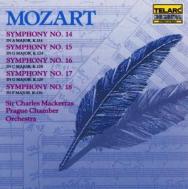 Mozart Symphonies No 14 No 15 No 16 No 17 No 18