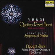 Verdi Four Sacred Pieces Stravinsky Symphony Of Ps