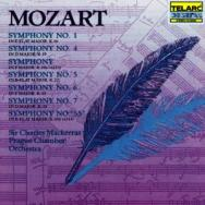 Mozart Symphonies No 1 K19a 4 5 6 55 7