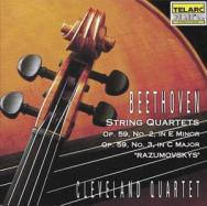 Beethoven Quartets Op 59 No 2 No 3
