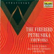 Stravinsky The Firebird Petrushka Fireworks