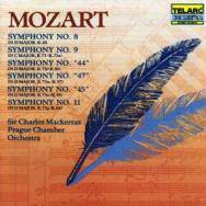 Mozart Symphonies No 8 9 44 47 45 11