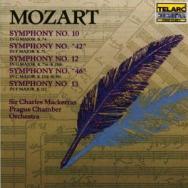 Mozart Symphonies No 10 42 12 46 13