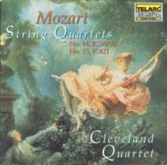Mozart String Quartets No 14 K387 No 15 K421