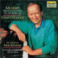 Mozart Piano Concertos No 20 No 22