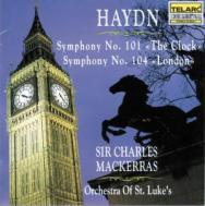 Haydn Symphonies No 101 The Clock No 104 London