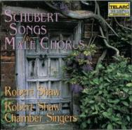 Schubert Songs For Male Chorus