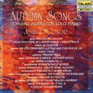 Autumn Songs Popular Works for Solo Piano