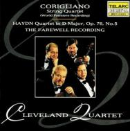 Corigliano Quartet Haydn Quartet Op 76 No 5