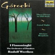 Gorecki Kleines Requiem Three Pieces In Old Style