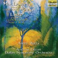 MacDowell Piano Concerto No 2 Liszt Piano Concerto