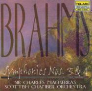 Brahms Symphonies No 3 No 4
