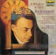 A Window In Time Rachmaninoff performs his solo pi