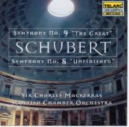Schubert Symphonies Nos 8 No 9
