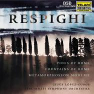 Respighi Pines Of Rome Fountains of Rome Metamorph