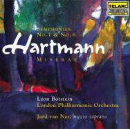 Hartmann Symphonies No 1 And No 6