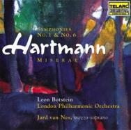 Hartmann Symphonies No 1 And No 6
