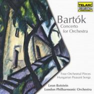 Bartok Concerto For Orchestra Four Orchestral Piec