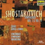 Shostakovich Symphonies No 1 No 15