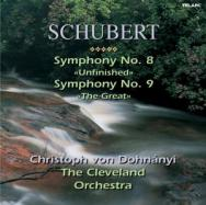 Franz Schubert Symphonies No 8 And No 9