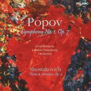 Popov Symphony No 1 Op 7 And Shostakovich Theme An