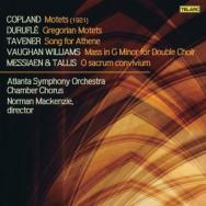 A Cappella Works By Copland Durufle Tavener Vaugha
