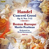 Handel Concerti Grossi Op 6 Nos 7 12