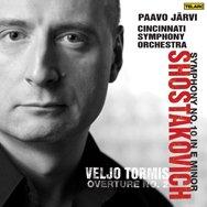 Shostakovich Symphony No 10Tormis Overture No 2